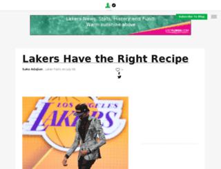 lakerfacts.sportsblog.com screenshot