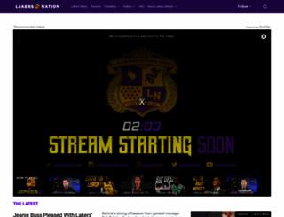 lakersnation.com screenshot