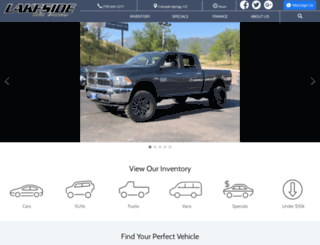 lakesideautobrokers.com screenshot