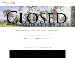 lakesidelodge.co.za screenshot