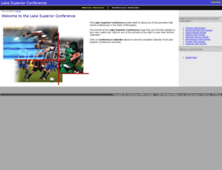 lakesuperiorconference.org screenshot