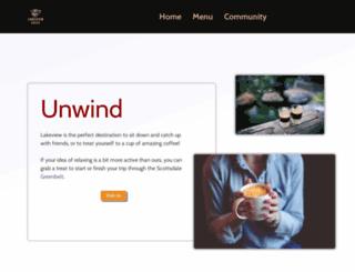 lakeviewcoffee.com screenshot