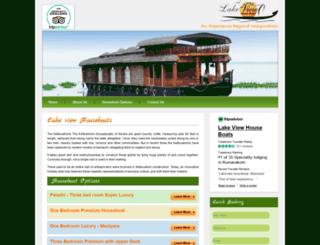 lakeviewhouseboat.com screenshot