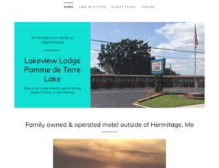 lakeviewlodgemo.com screenshot