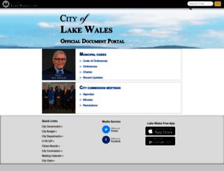 lakewales.eregulations.us screenshot