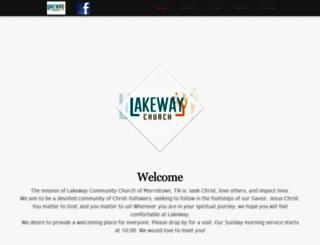 lakewaychurch.com screenshot
