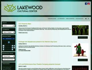 lakewood.showare.com screenshot