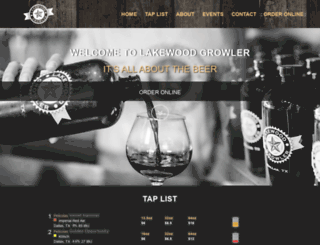 lakewoodgrowler.com screenshot