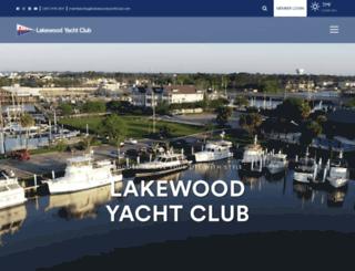 lakewoodyachtclub.com screenshot