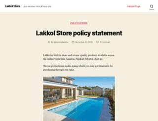 lakkol.com screenshot