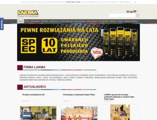 lakma.pl screenshot