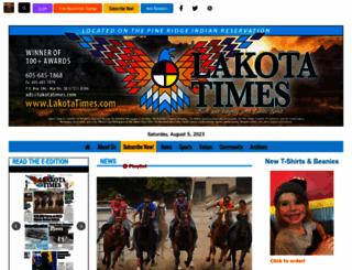 lakotacountrytimes.com screenshot