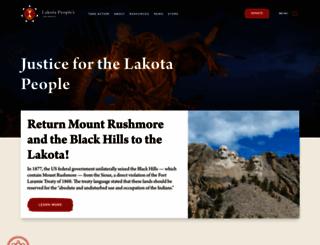 lakotalaw.org screenshot
