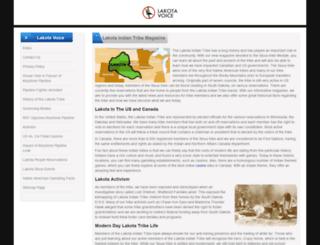 lakotavoice.com screenshot