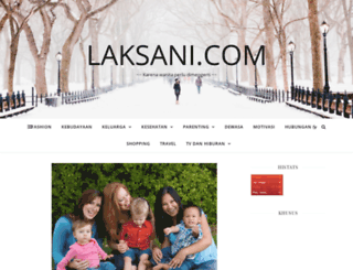 laksani.com screenshot