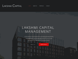 lakshmi-capital.com screenshot