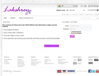 lakshrey.com screenshot