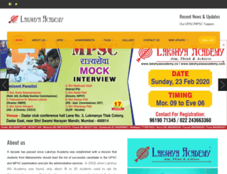 lakshyaiasacademy.com screenshot