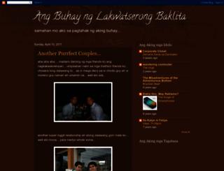 lakwatserongbaklita.blogspot.com screenshot