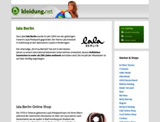 lalaberlin-onlineshop.de screenshot