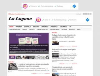 lalaguna.mx screenshot