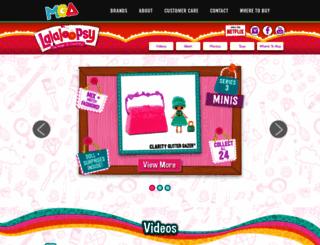lalaloopsy.com screenshot