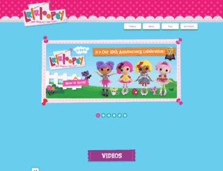 lalaloopsygirls.com screenshot