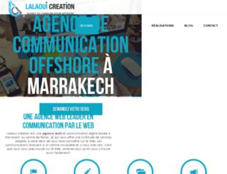 lalaoui-creation.com screenshot