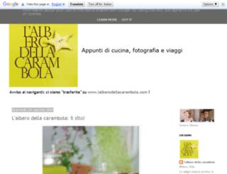 lalberodellacarambola.blogspot.it screenshot
