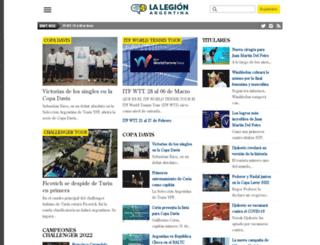 lalegionargentina.com.ar screenshot