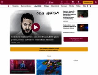 lalibre.be screenshot