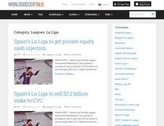 laligatalk.com screenshot