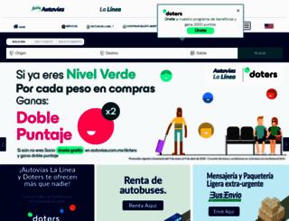 lalinea.com.mx screenshot