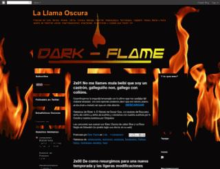 lallamaoscura.blogspot.com screenshot