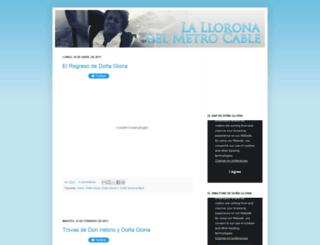 lalloronadelmetrocable.blogspot.com screenshot