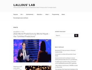 lallouslab.net screenshot