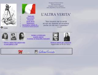 laltraverita.it screenshot