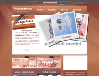 lalucepulsata.com screenshot