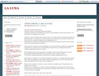 laluna.blog.com.es screenshot