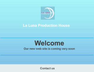 lalunaproduciton.com screenshot