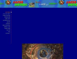 lamacrobiotique.com screenshot