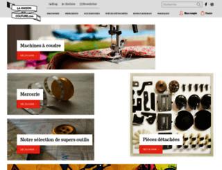 lamaisondelacouture.com screenshot