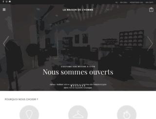 lamaisondelhomme.fr screenshot