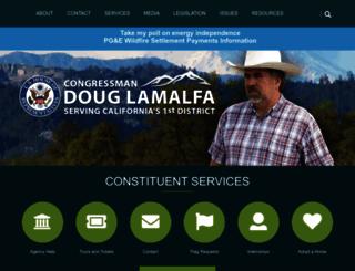 lamalfa.house.gov screenshot