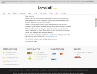 lamaloli.com screenshot