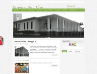 lamanannur.blogspot.com screenshot