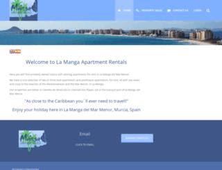 lamanga-holiday-apartments.co.uk screenshot