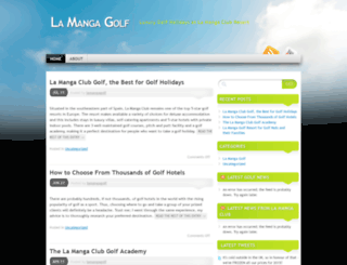 lamangagolf.wordpress.com screenshot
