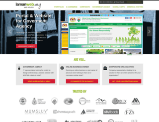 lamanweb.my screenshot