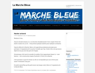 lamarchebleue.wordpress.com screenshot